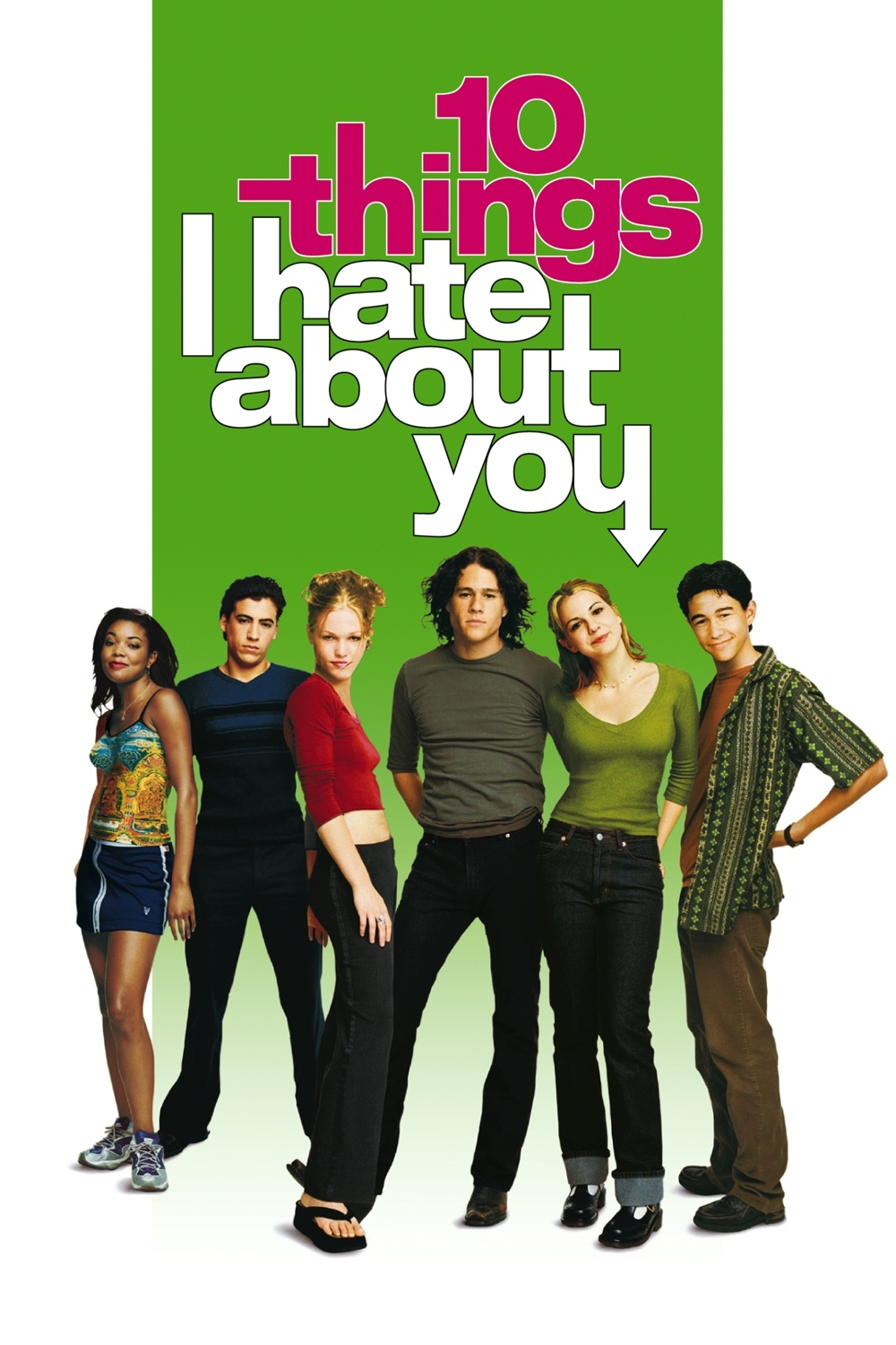 10 things i hate about you taming A still from 10 things i hate about you of ledger and gordon-levitt in the cafeteria together with the caption that moment, when you find out the joker and robin went to high school together would go viral soon after the dark knight rises was released.